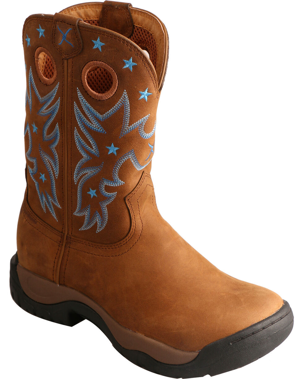 Twisted X Women's Waterproof All Around Western Boots, Brown, hi-res