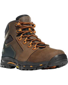 "Danner Men's Vicious 4.5"" Work Boots, Brown, hi-res"