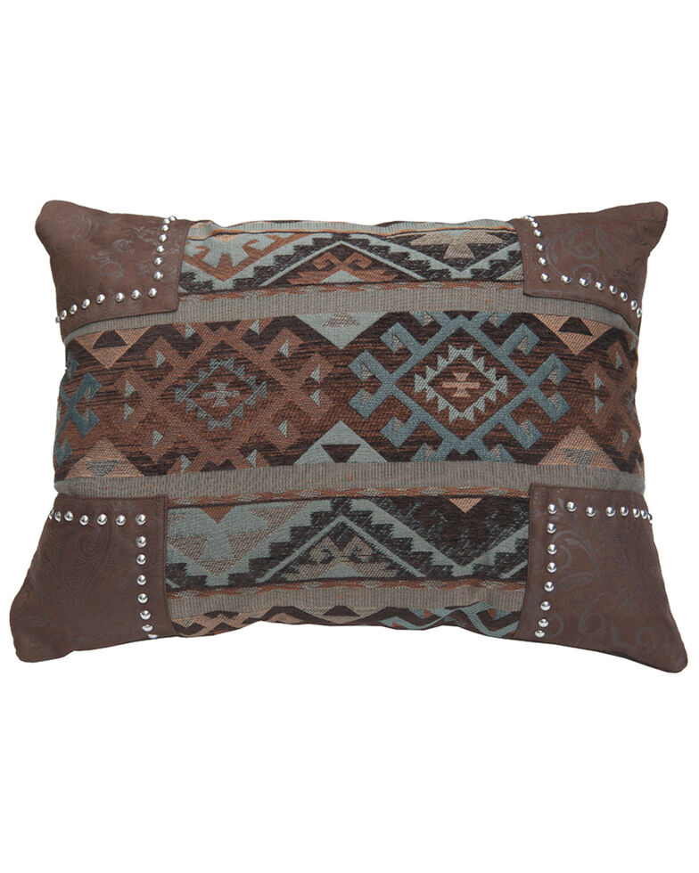 HiEnd Accents Rio Grande Navajo Pillow, Multi, hi-res
