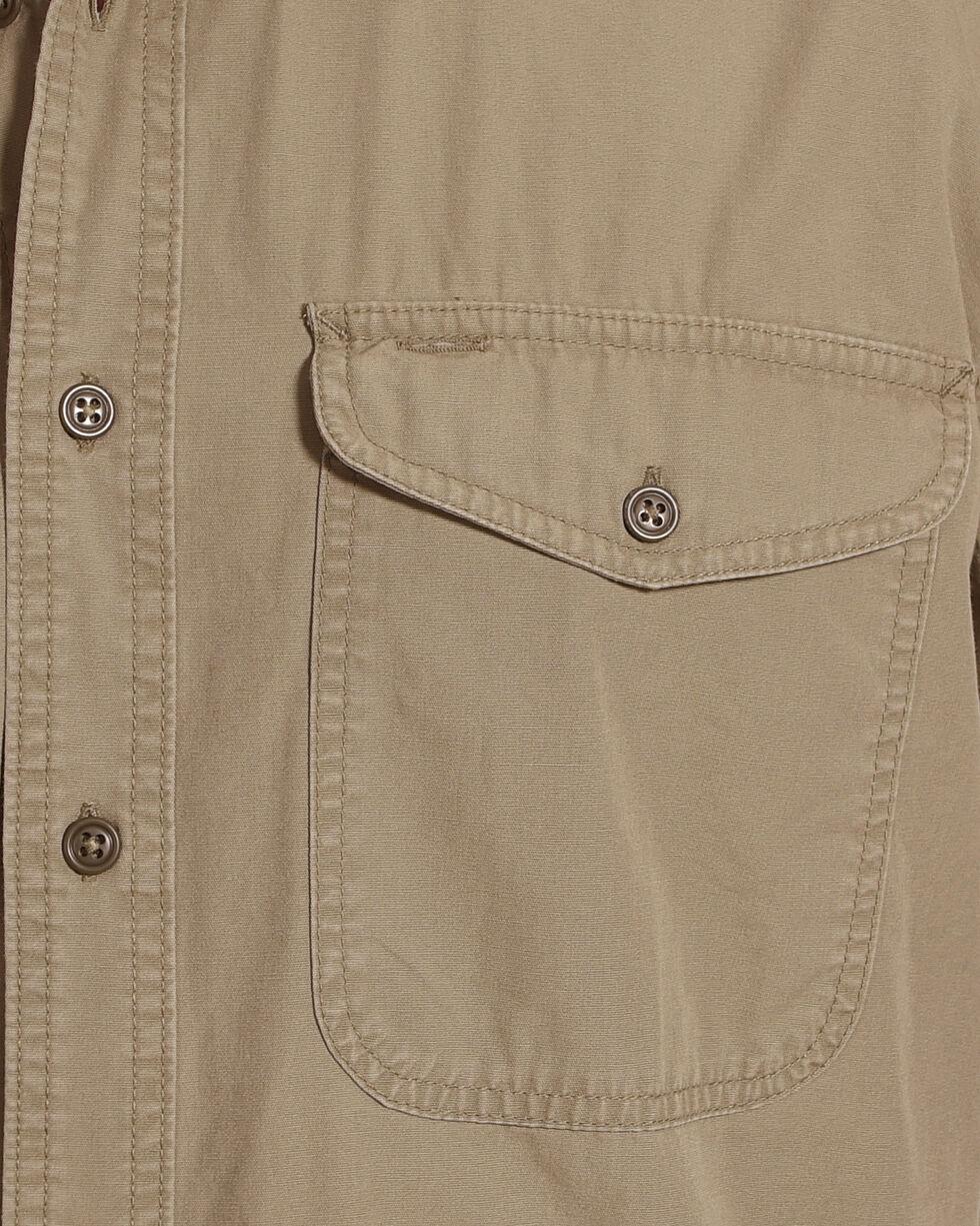 Filson Men's Field Green Short Sleeve Field Shirt , Olive, hi-res