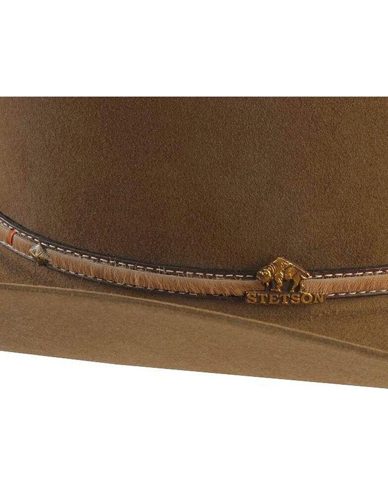 f005ec8a Zoomed Image Stetson Powder River 4X Buffalo Fur Felt Hat, Mink, hi-res