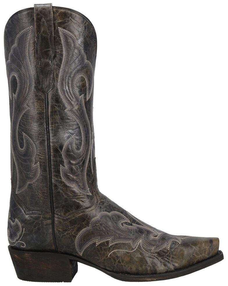 Dan Post Men's Black Falco Western Boots - Snip Toe, Black, hi-res