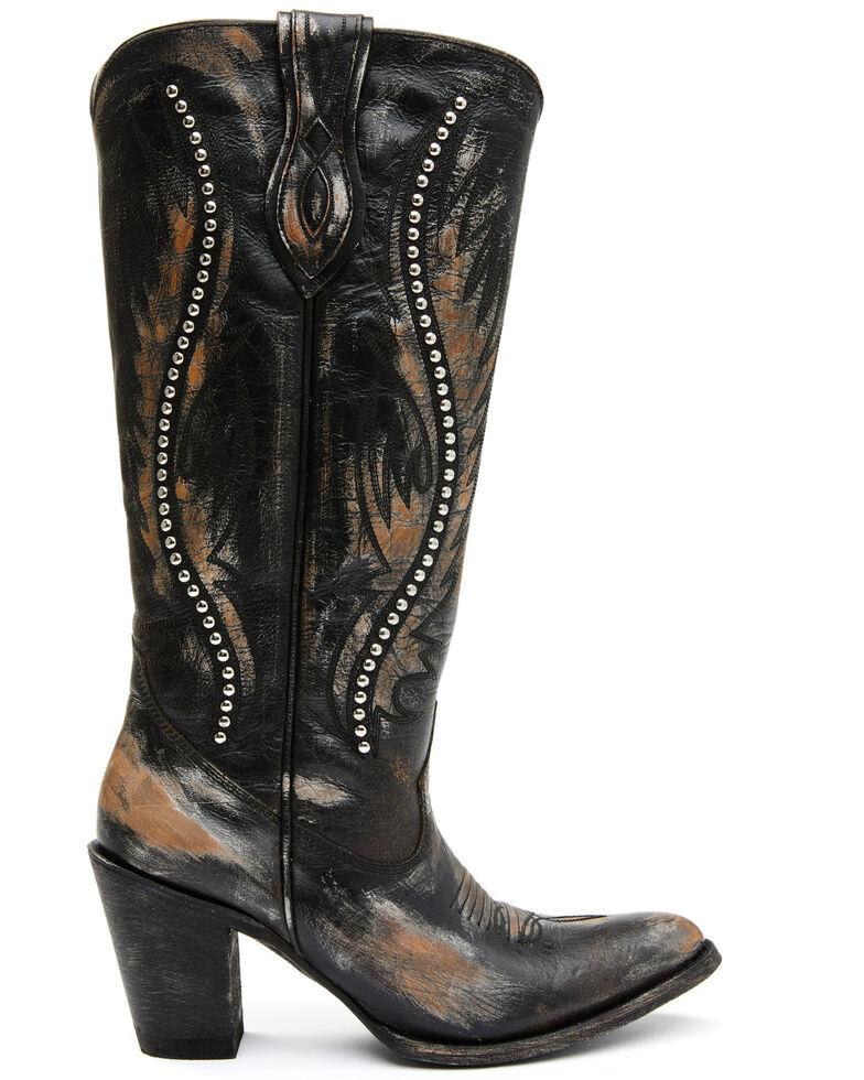 Idyllwind Women's Fierce Western Boots - Round Toe, Black, hi-res