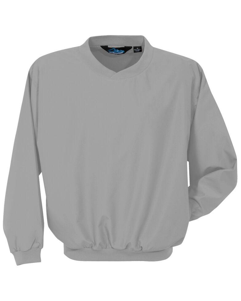 Tri-Mountain Men's Grey 4X Windstar Microfiber Work Wind Jacket - Big , Grey, hi-res