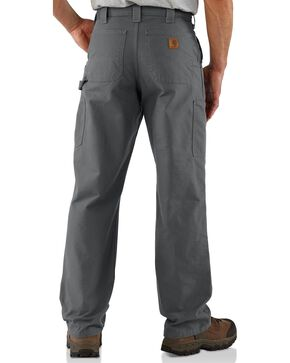Carhartt Men's Canvas Dungaree Work Pants, Fatigue, hi-res