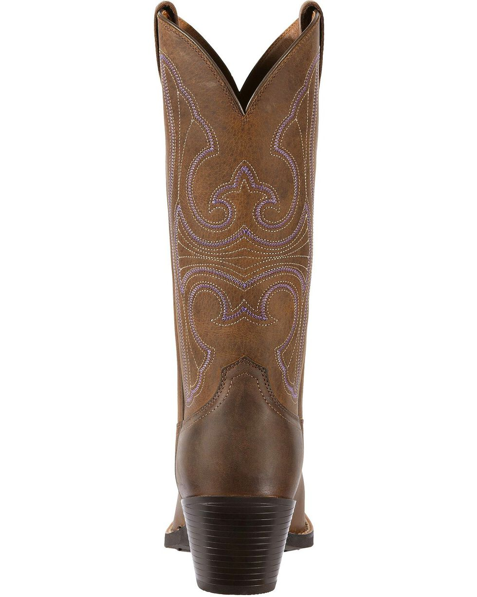 Ariat Women's Round Up Western Boots, Distressed, hi-res