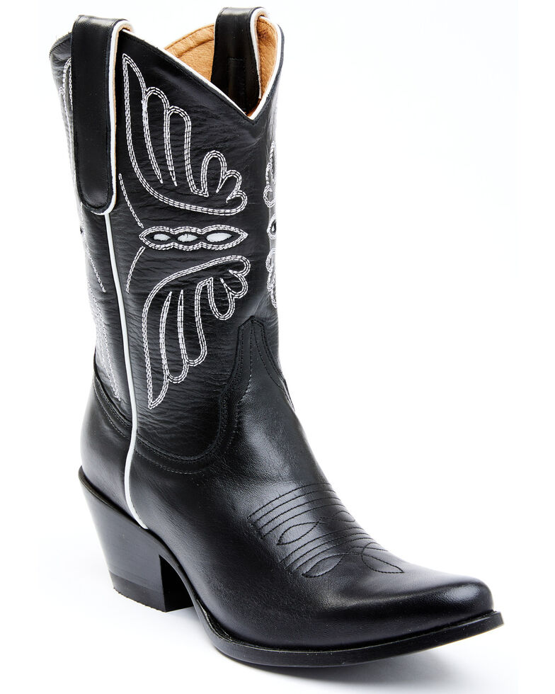 Idyllwind Women's Ace Black Western Boots - Round Toe, Black, hi-res