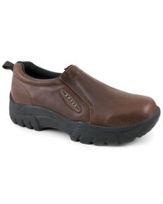 Roper Men's Performance Casual Shoes, Brown, hi-res