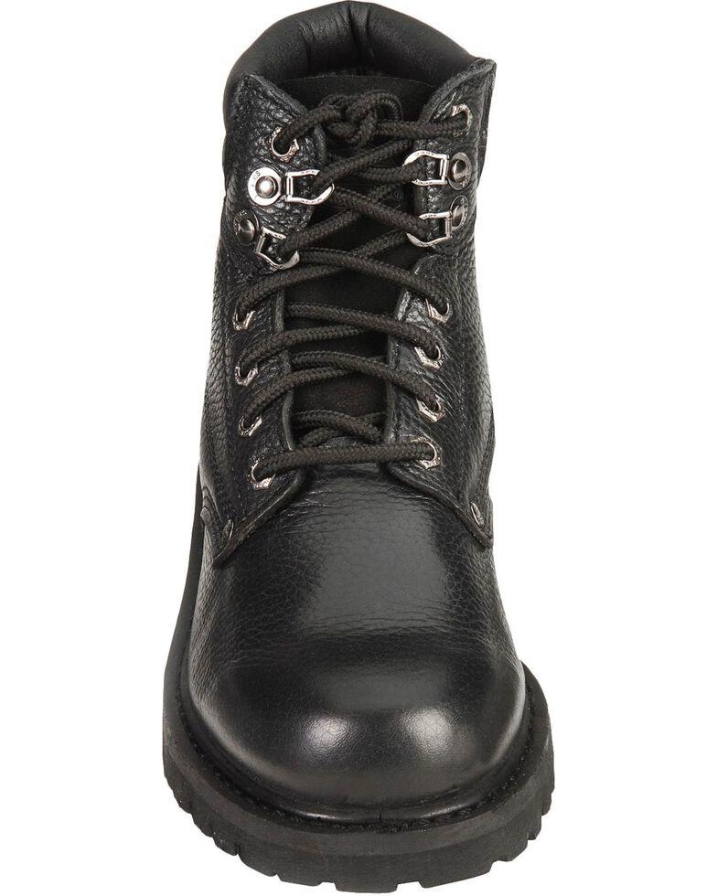"Dickies Men's Raider 6"" Lace-Up Work Boots - Steel Toe, Black, hi-res"