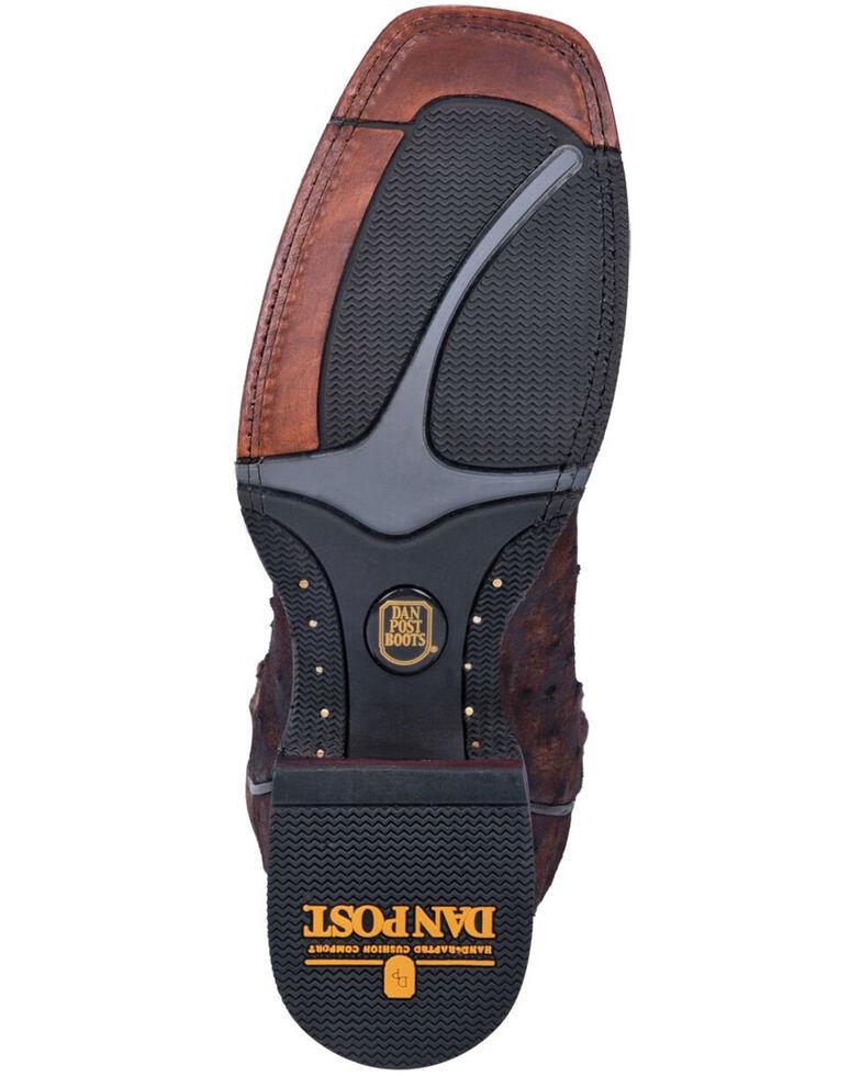 Dan Post Men's Stark Western Boots - Square Toe, Brown, hi-res