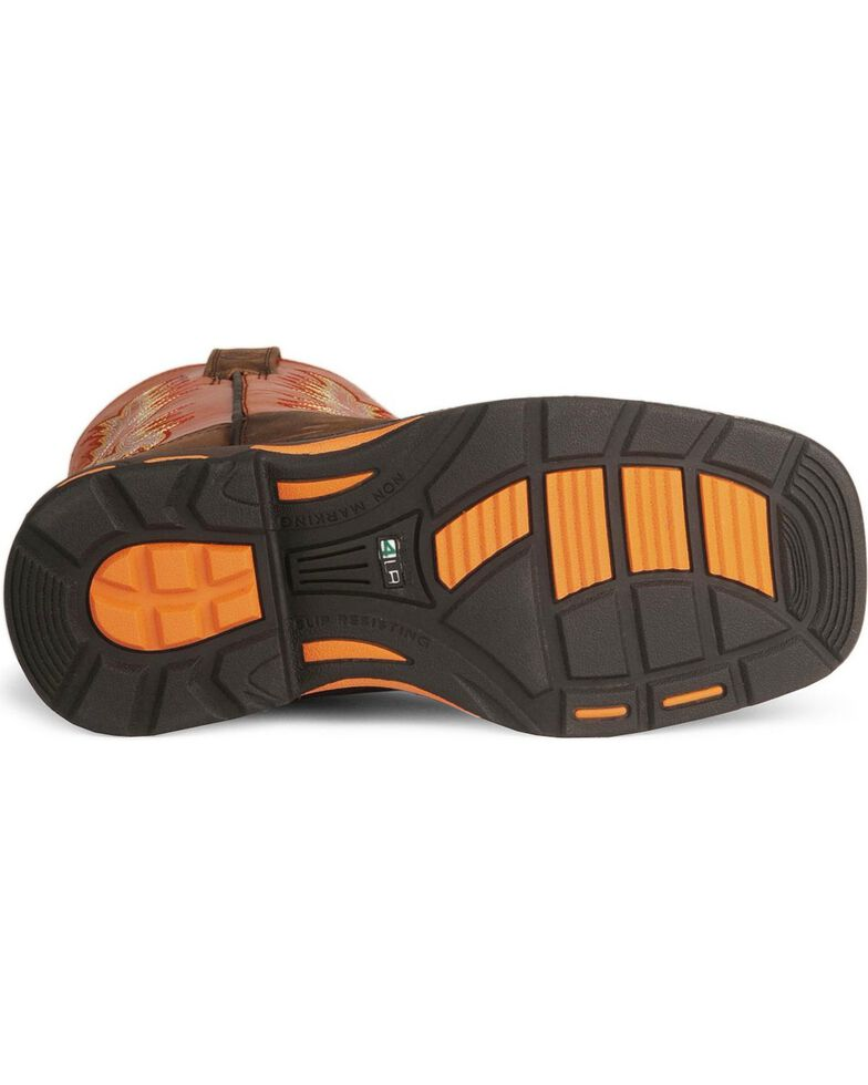 Ariat Kid's Workhog Work Boots, Earth, hi-res