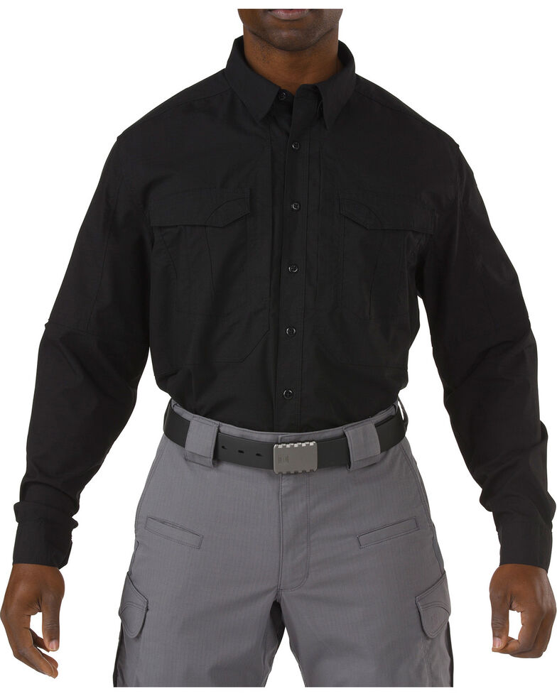 5.11 Tactical Stryke Long Sleeve Shirt, Black, hi-res
