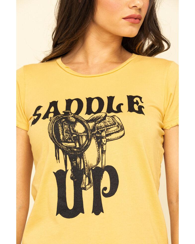 Bandit Women's Saddle Up Graphic Tee, Dark Yellow, hi-res