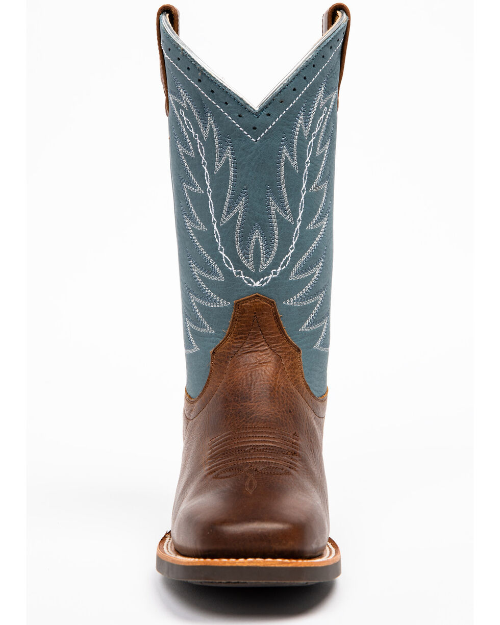 Shyanne Women's Damiana Western Boots - Square Toe, Brown, hi-res