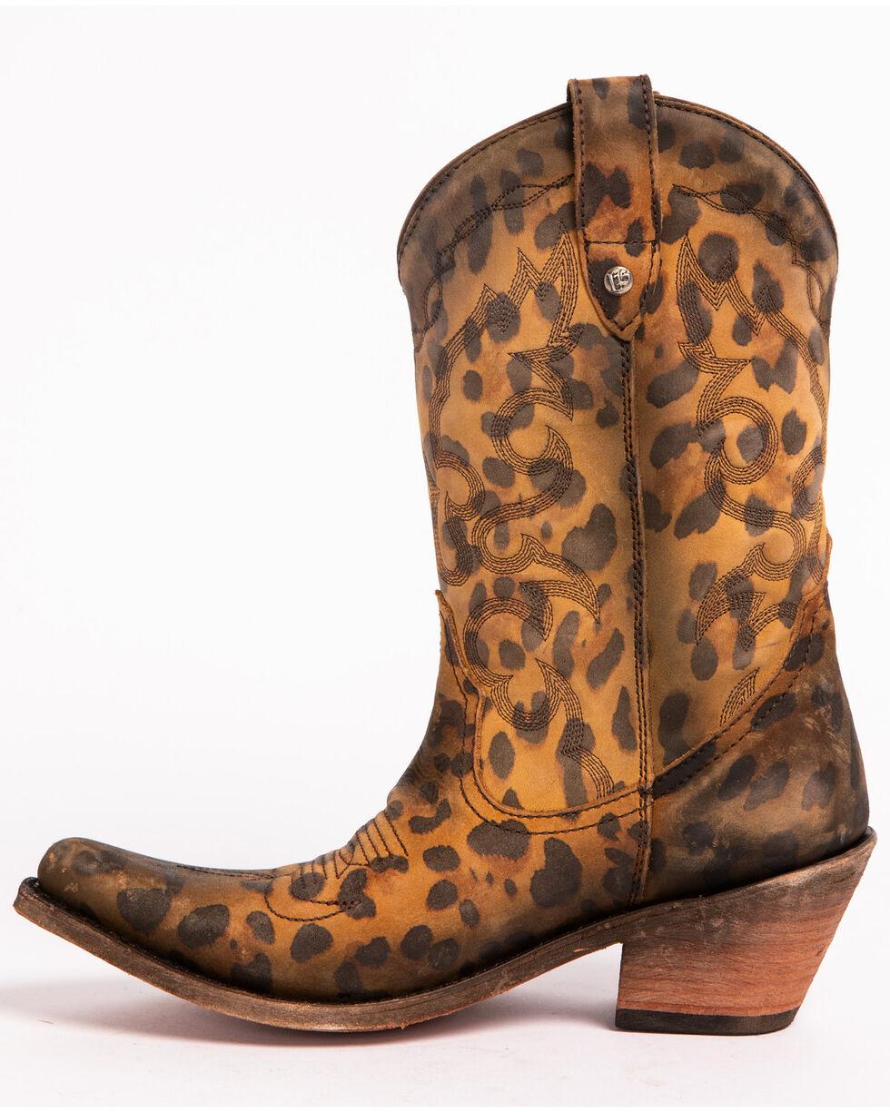 Liberty Black Women's Chita Miel Western Cowgirl Boots - Pointed Toe , Cheetah, hi-res
