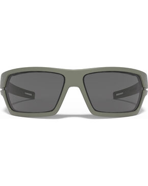 Under Armour Men's Satin Green Battlewrap Sunglasses , Green, hi-res