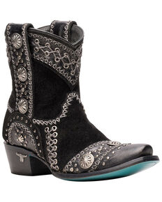 Lane Women's Wind Walker Western Boots - Snip Toe, Black, hi-res