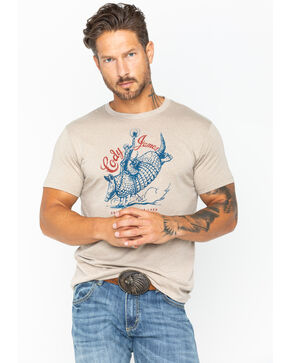 Cody James Men's Armadillo T-Shirt , Off White, hi-res
