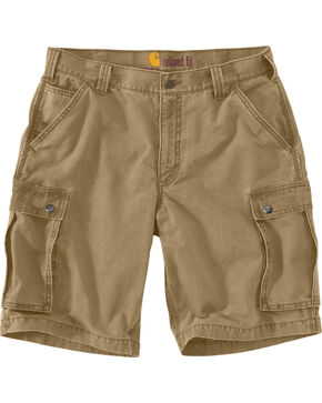 Carhartt Men's Rugged Cargo Shorts, Beige, hi-res
