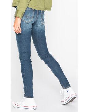 Silver Women's Suki Dark Wash Skinny Jeans , Indigo, hi-res