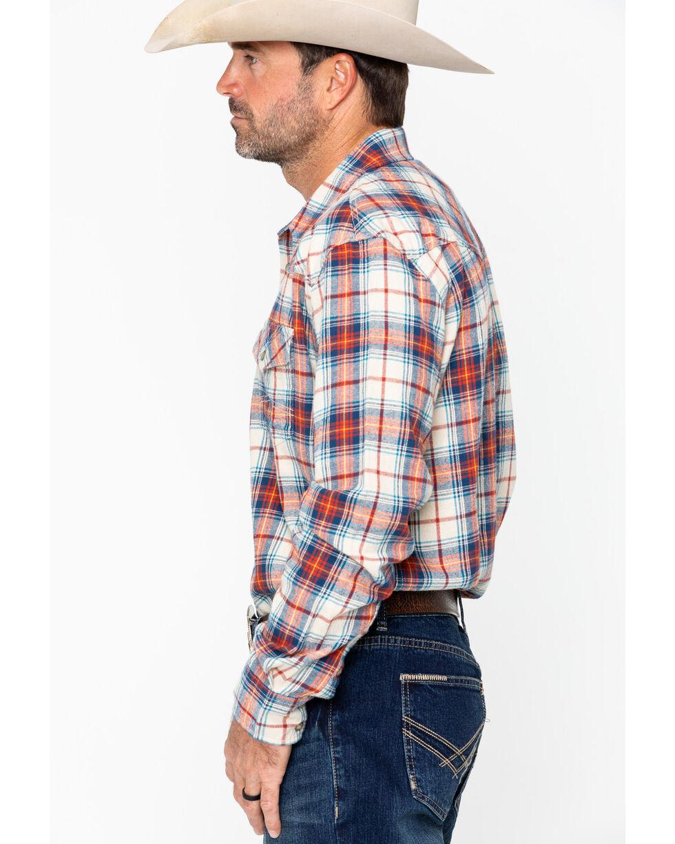 Cody James Men's Nome Flannel Long Sleeve Shirt - Big & Tall , Blue, hi-res