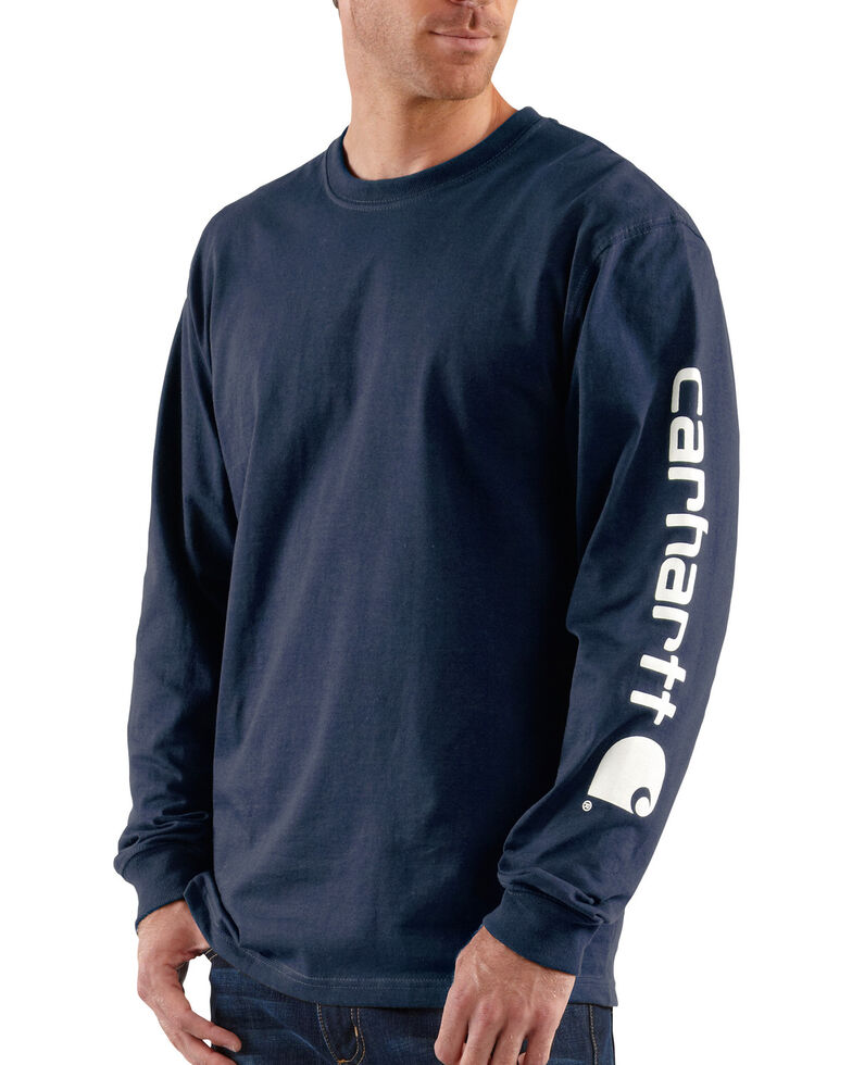 Carhartt Signature Logo Sleeve Knit T-Shirt, , hi-res