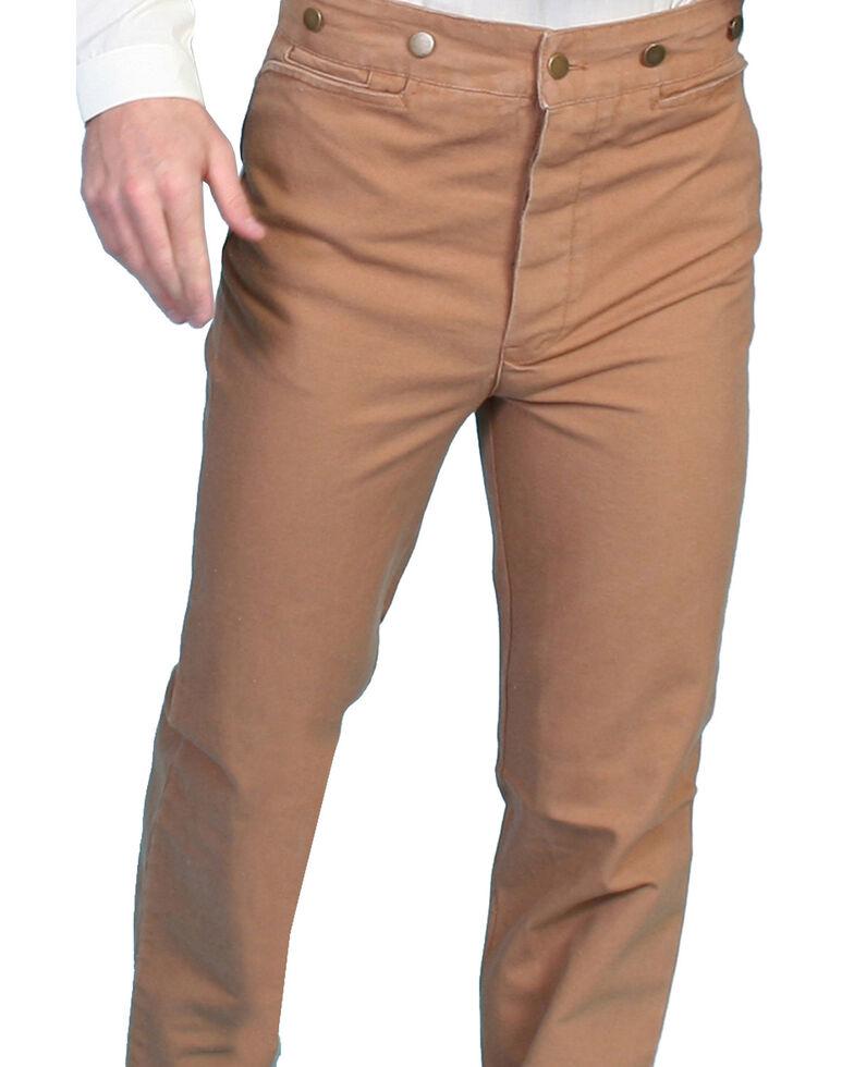 Scully Men's Canvas Pants, Brown, hi-res