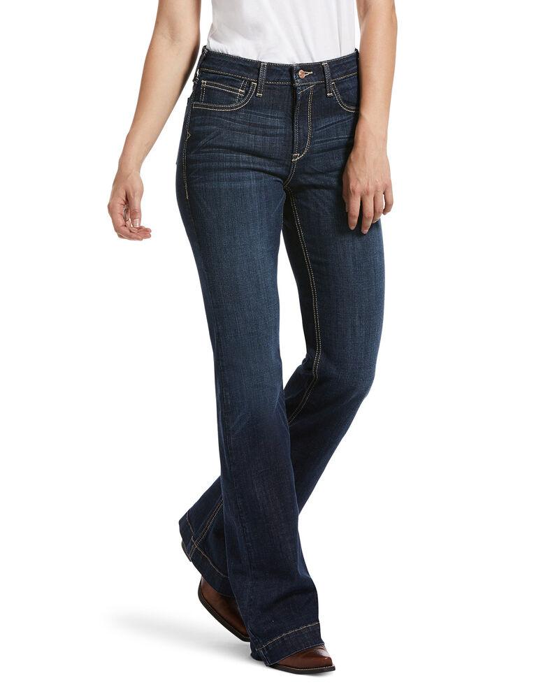 Ariat Women's Rascal Trouser Jeans, Blue, hi-res