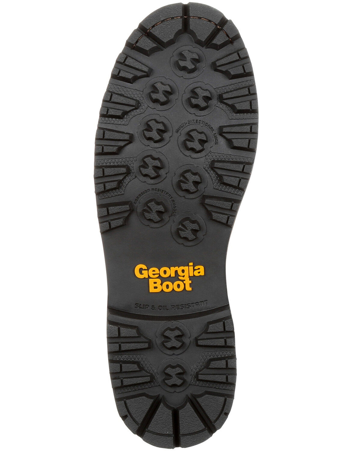 Georgia Boot Mens Low Heel Logger 9 Comp Toe Waterproof
