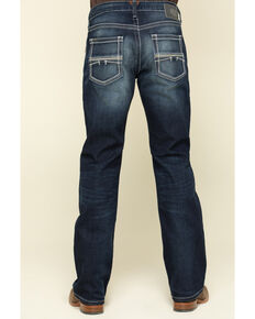 Ariat Men's M5 Nightingale Dark Stretch Stackable Slim Straight Jeans, Blue, hi-res
