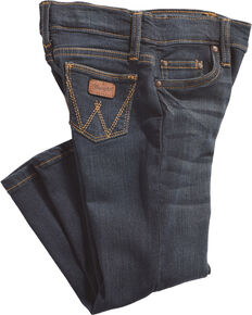 Wrangler Toddler Boys' Western Adjust A Fit Jeans (2T-4T), Blue, hi-res