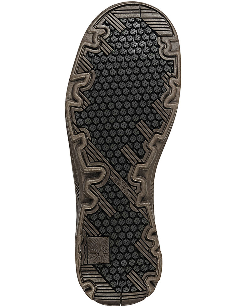 Nautilus Men's Brown EH Carbon Nanofiber Casual Work Shoes - Composite Toe, Brown, hi-res