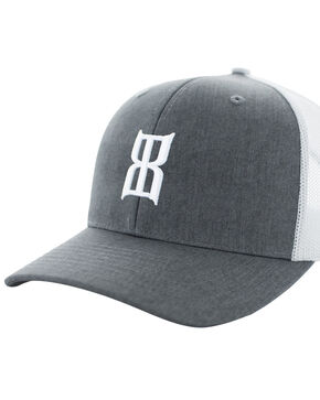 Bex Men's Heather Steel Baseball Cap, Heather Grey, hi-res