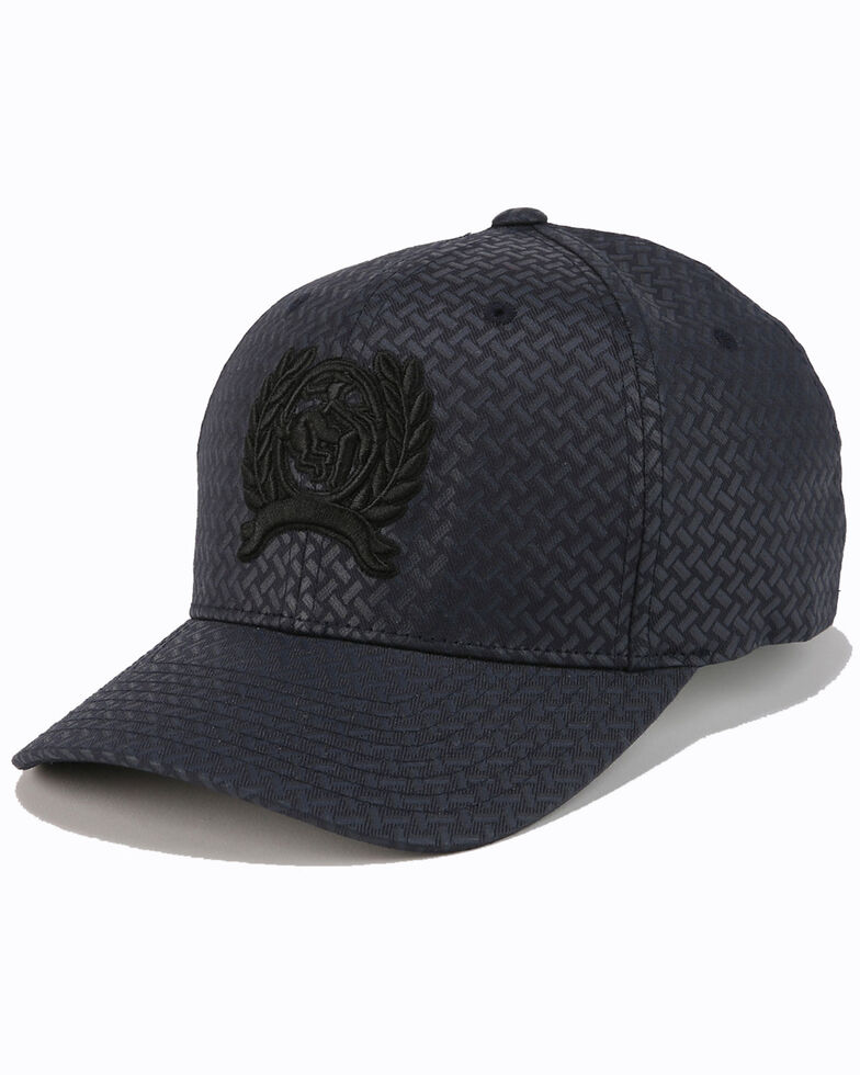 Cinch Men's Navy Flex Fit Embroidered Logo Cap , Navy, hi-res