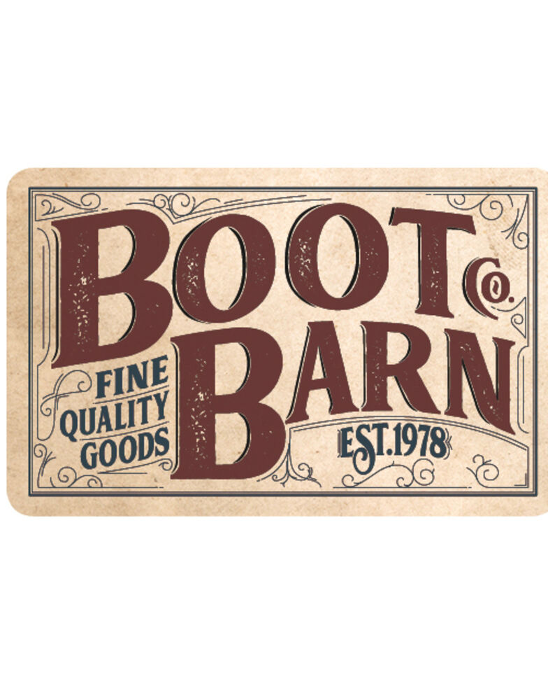 Boot Barn® Fine Quality Goods Gift Card, No Color, hi-res