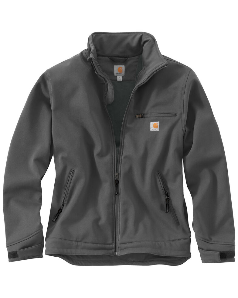 Carhartt Men's Crowley Work Jacket, Charcoal Grey, hi-res