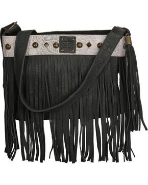 STS Ranchwear by Carroll Women's Lila Crossbody Bag , Black, hi-res