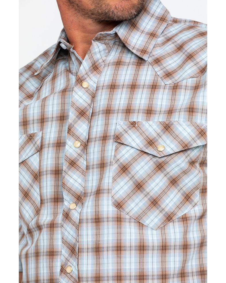 Resistol Men's Big Bend Small Plaid Short Sleeve Western Shirt , , hi-res