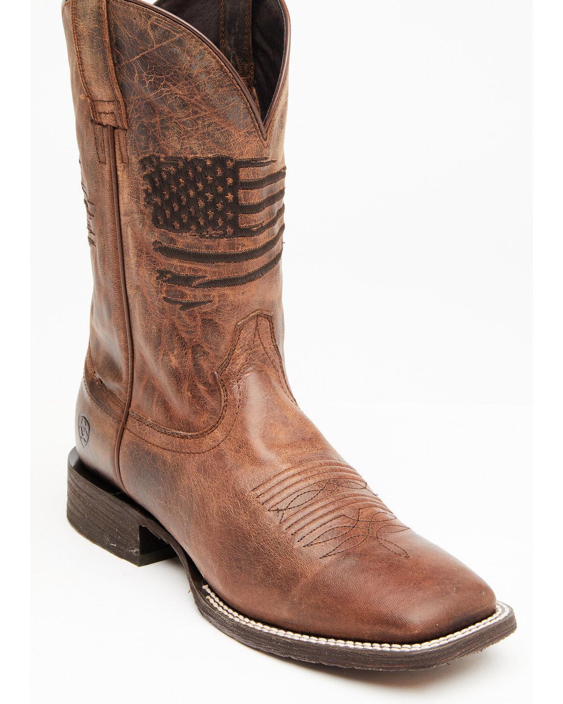 Men's Square Toe Boots - Boot Barn