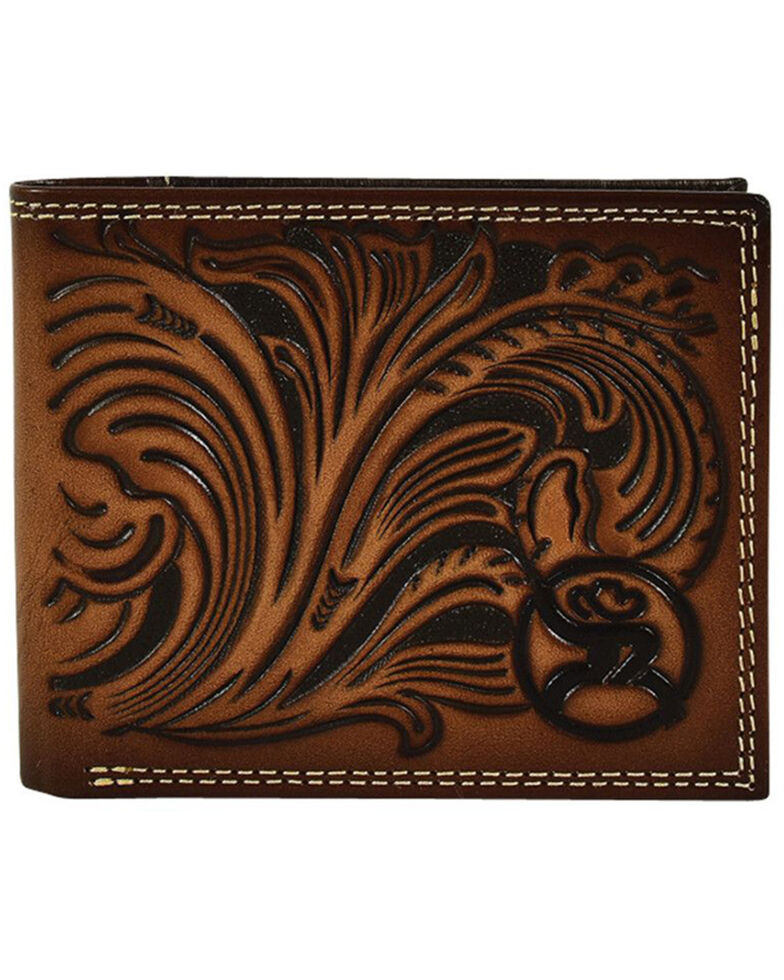 HOOey Men's Roughy Rodeo Wallet, Tan, hi-res