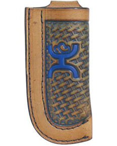 HOOey Basket Weave Knife Sheath, Brown, hi-res