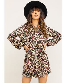 Show Me Your Mumu Women's McKenna Cheetah Fever Dress, Multi, hi-res