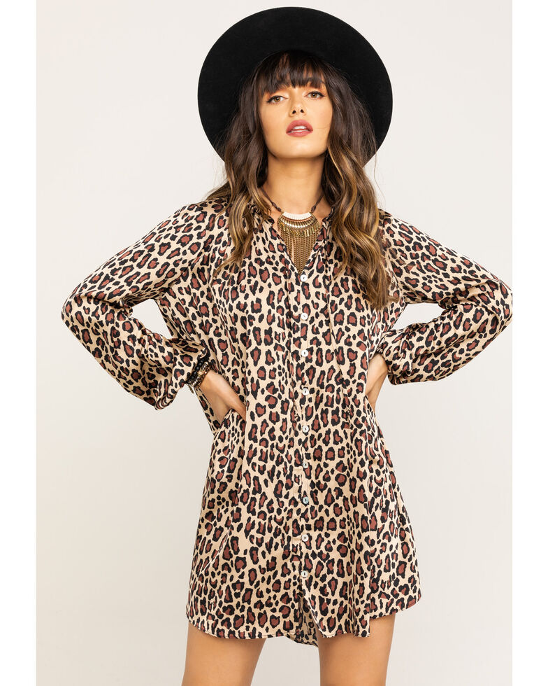 Show Me Your Mumu Women's McKenna Cheetah Fever Dress, Multi, hi-res