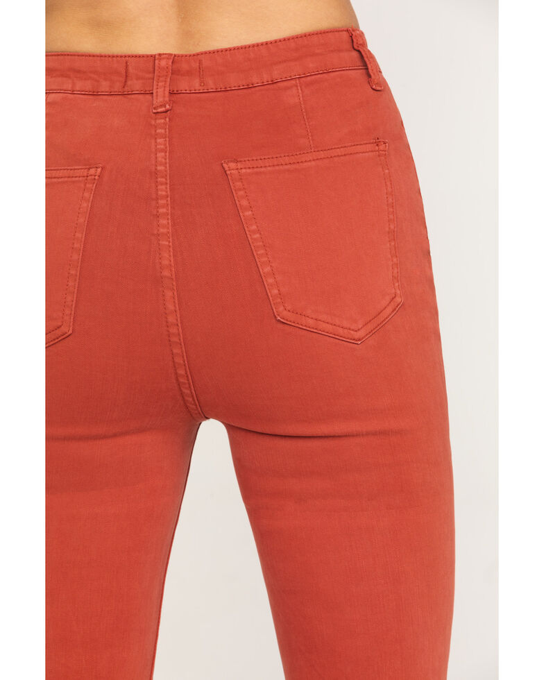 By Together Women's Extra Flare Pants  , Rust Copper, hi-res