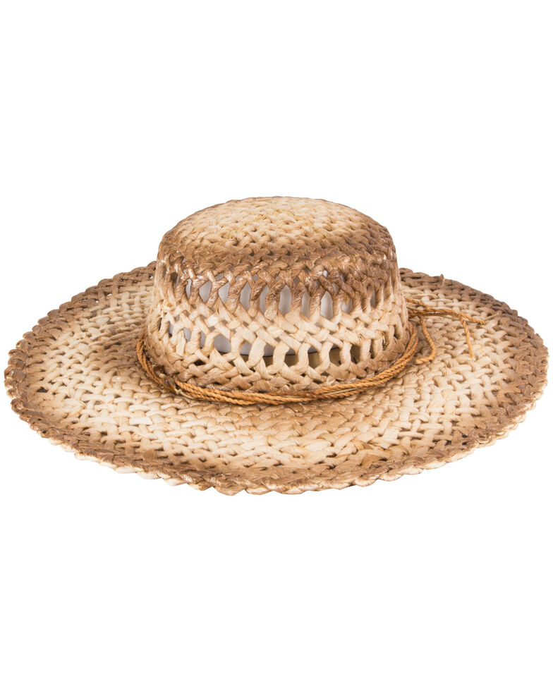 Peter Grimm Women's Namiko Tea Stained Sunhat, Tea, hi-res