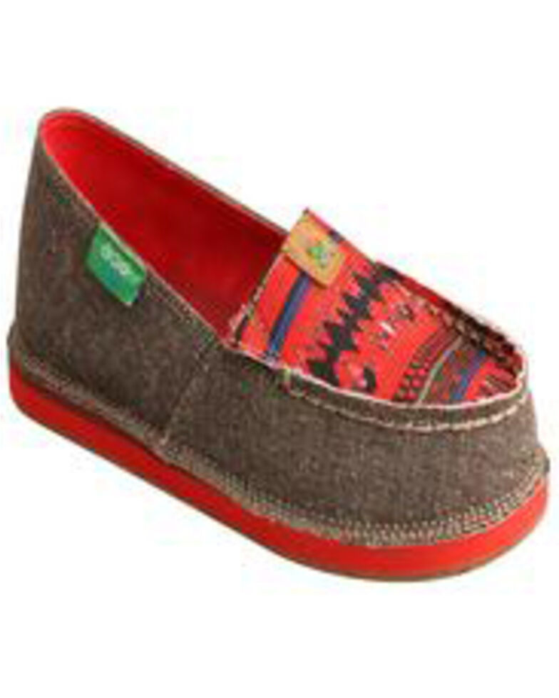 Twisted X Boy's Slip On Driving Mocs, Lt Brown, hi-res