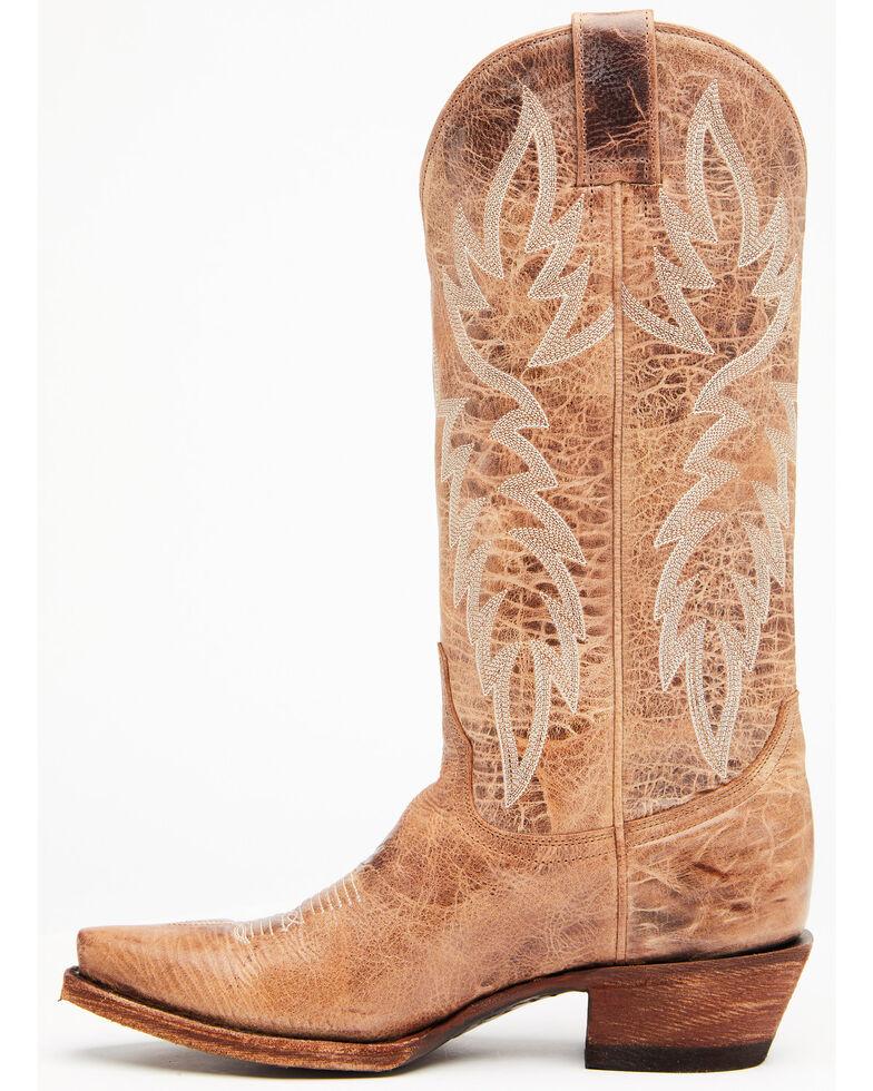 Idyllwind Women's Wheeler Western Boots - Snip Toe, Tan, hi-res
