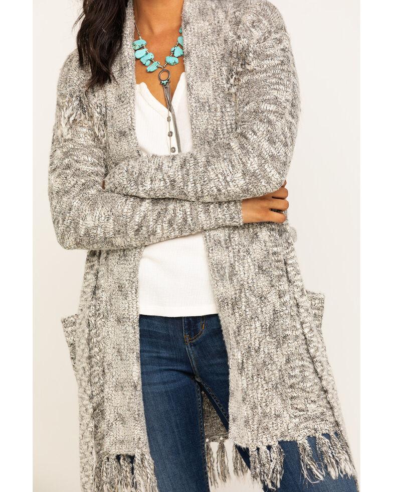 Idyllwind Women's Grit N Knit Cardigan, Grey, hi-res