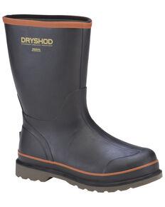 Dryshod Men's Hogwash Boots, Black/red, hi-res