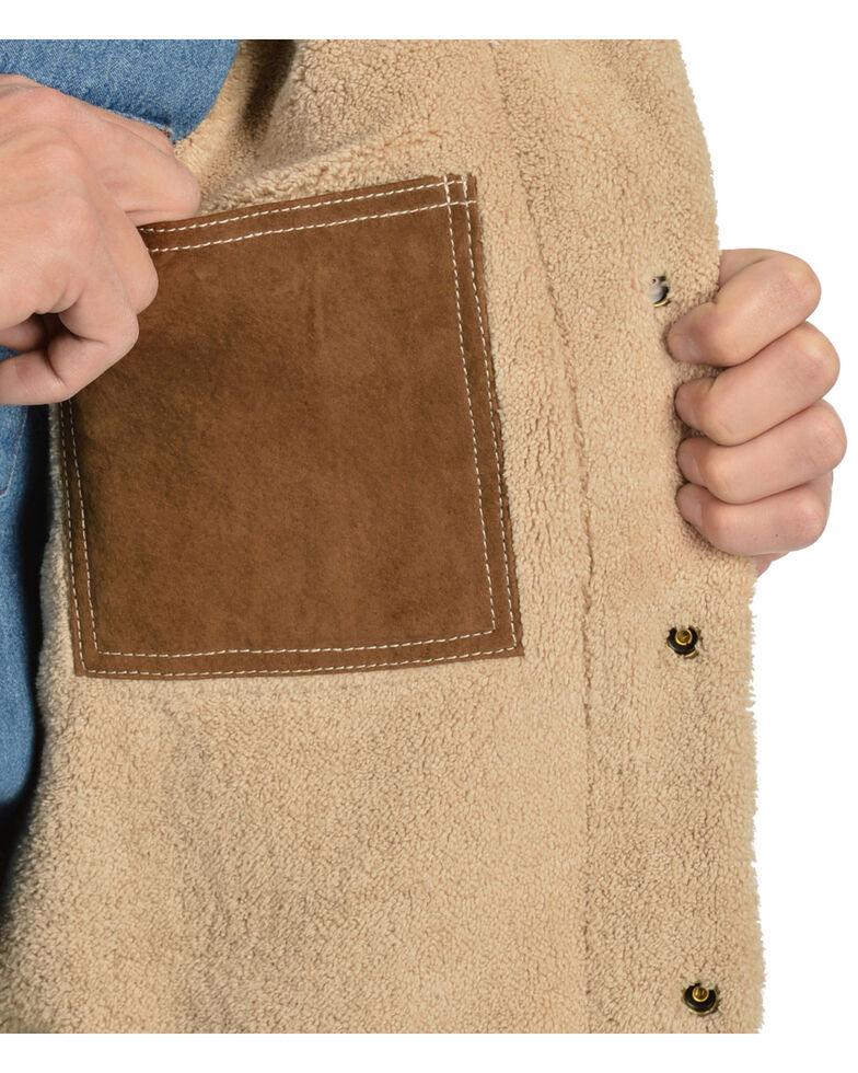 Scully Men's Boar Suede Pilot Jacket, Brown, hi-res
